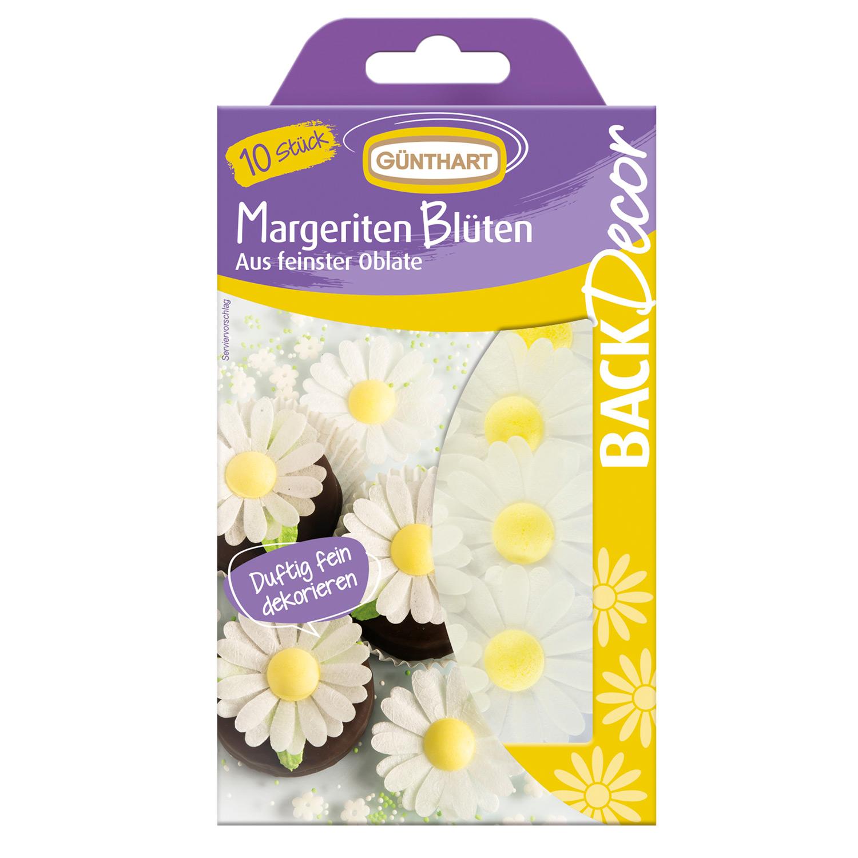 Margeriten Blüten Oblate 10 Stk.