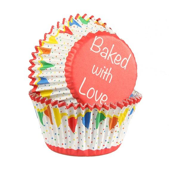 Cupcake Förmchen 25 Stück