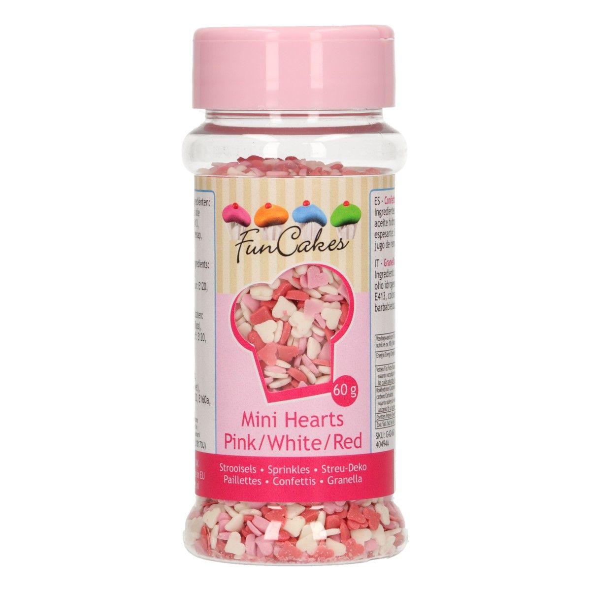 Streudekor Miniherzen 60 g
