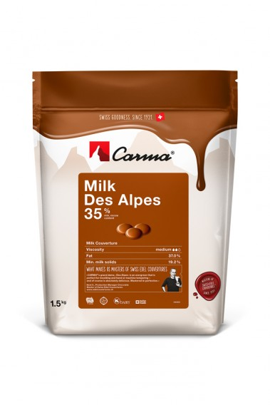 Carma Schokoladen Callets  - Milchschokolade - 1,5kg-Copy
