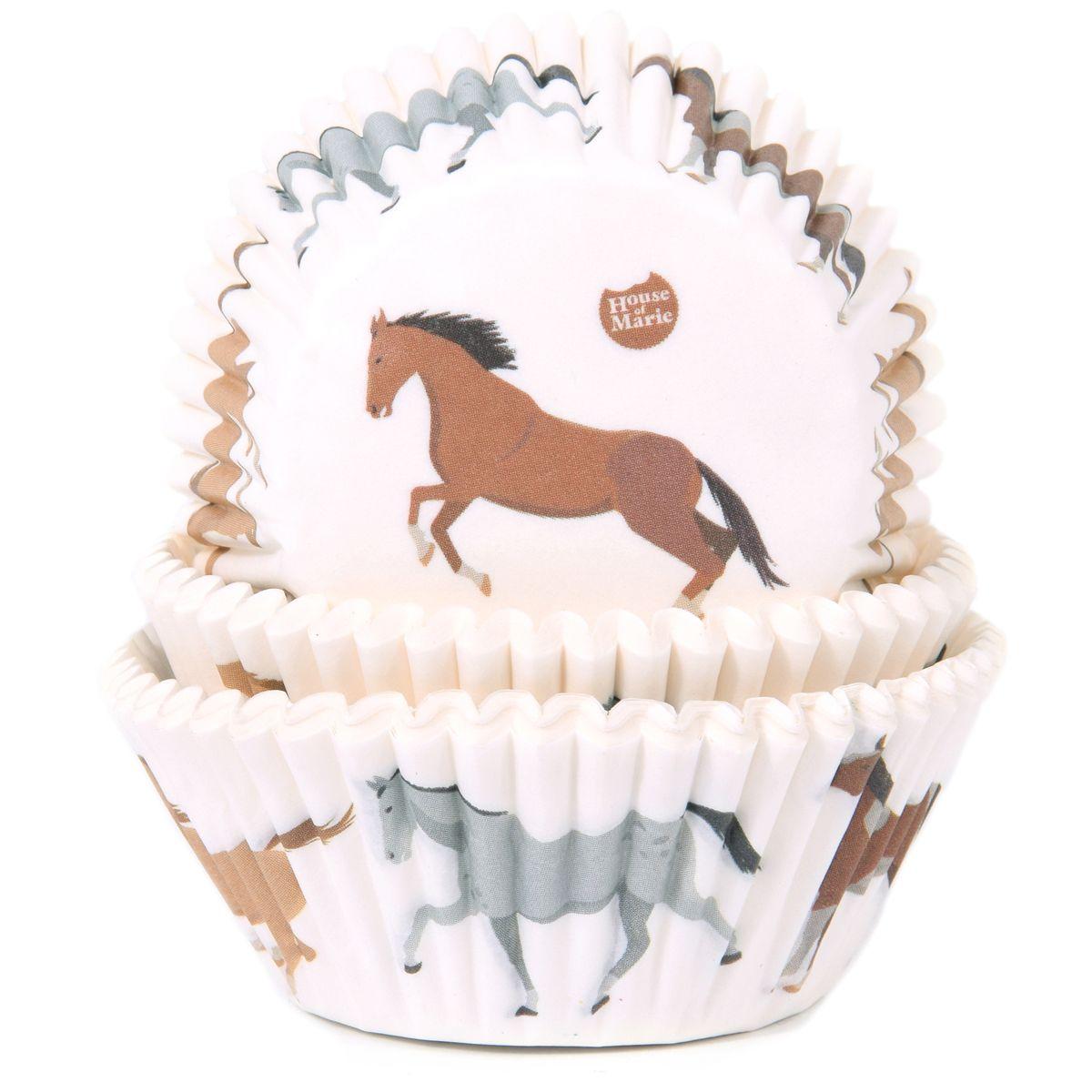 Cupcakeförmchen Pferde Ø 5 cm