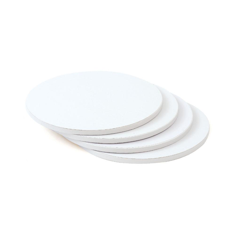 Tortenplatte rund, weiß, 22 cm, 3 mm dick