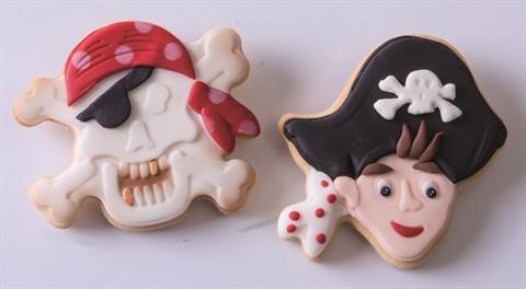 Ausstecher Set Piraten