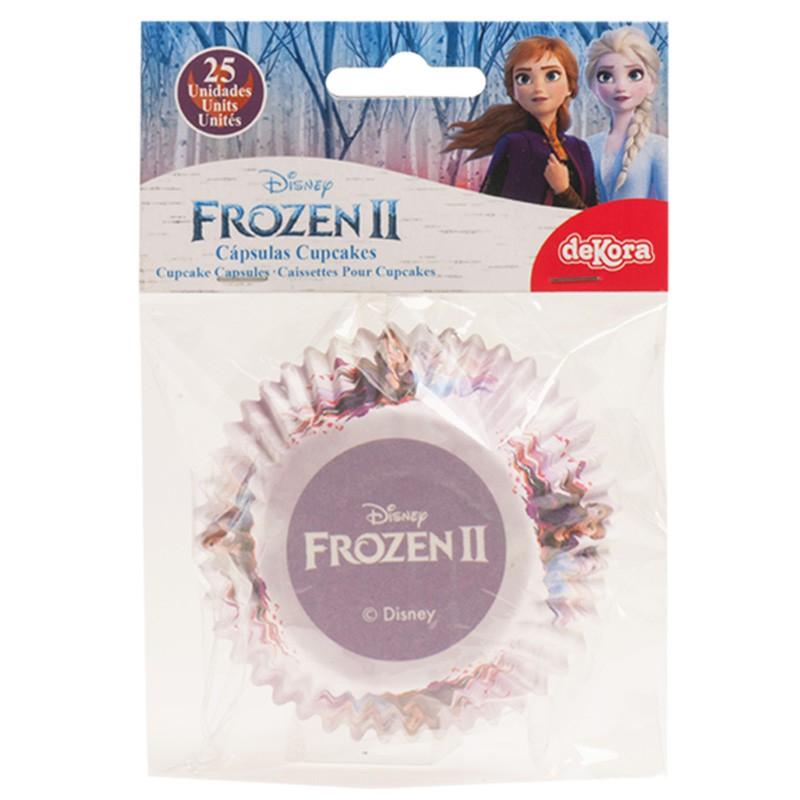 Papierförmchen Muffin / Cupcake Eiskönigin Elsa Frozen II