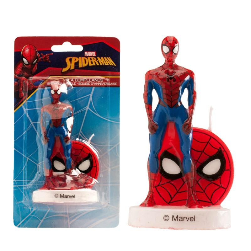 Geburtstagskerze 3D Spiderman