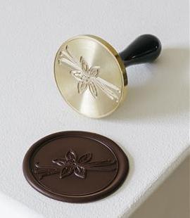 "Schokoladen Stempel ""Vanille"""