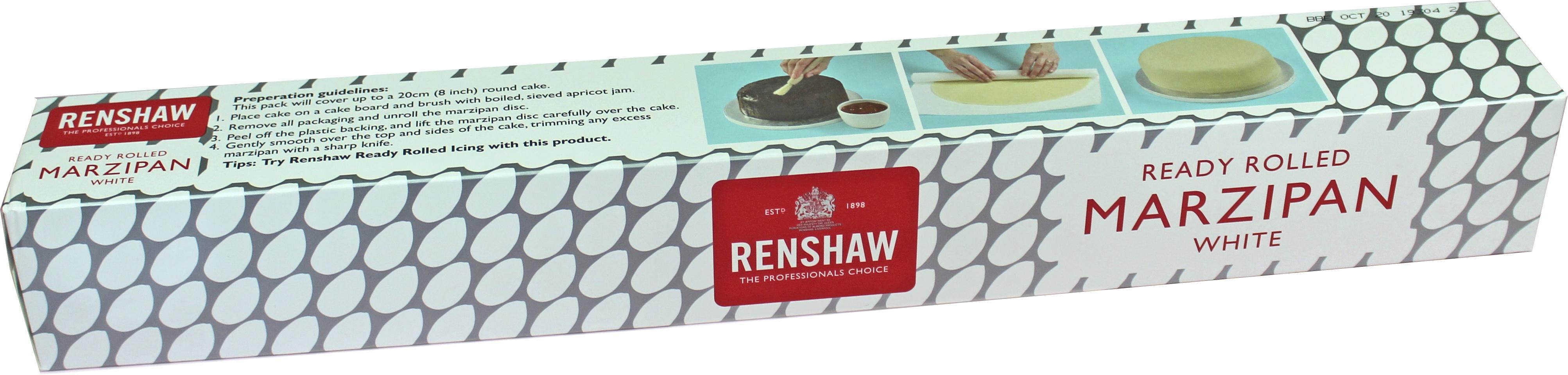 Renshaw ausgerollte Marzipandecke 33cm