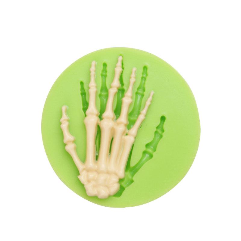 Silikonform Hand Skelett