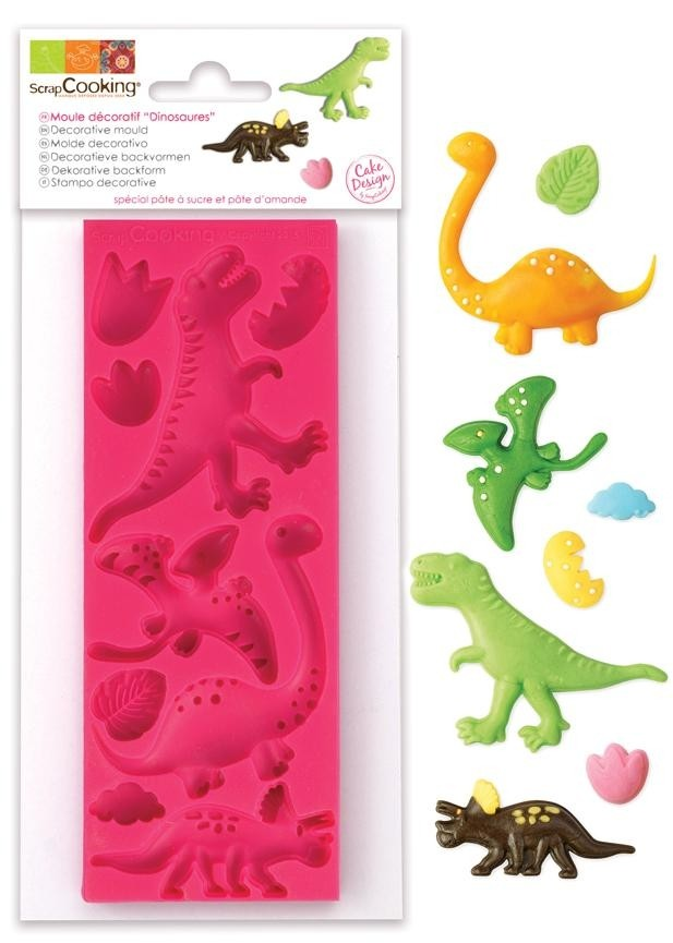 Silikonform Dinosaurier