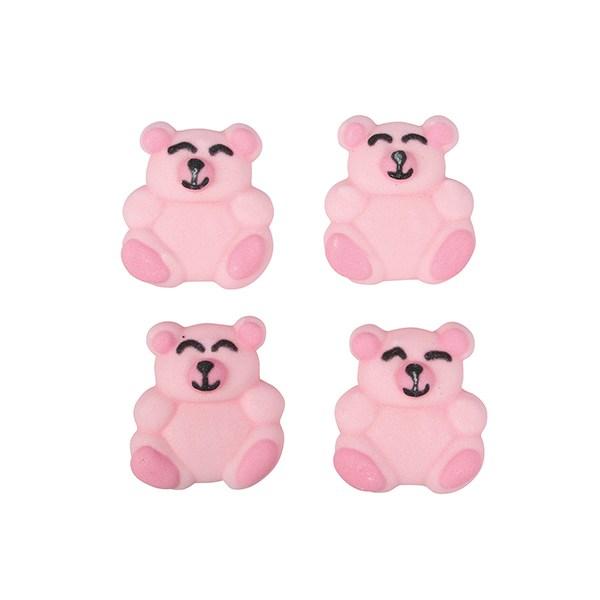 Zuckerdeko Bär rosa