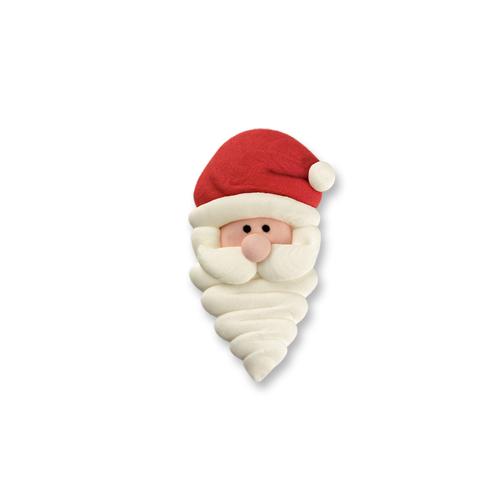 Zucker Nikolaus Weihnachtsmann 6 Stk.