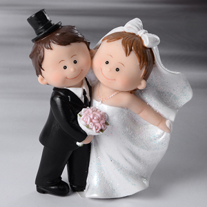 Cake Topper Kinder Brautpaar