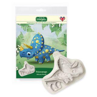 Silikonform Katy Sue | Triceratops