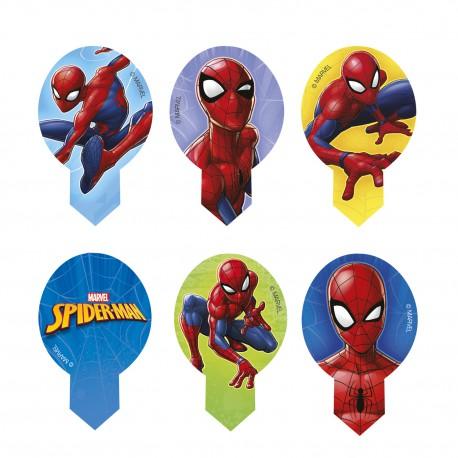Spiderman Muffinaufleger Oblate   10 Stück