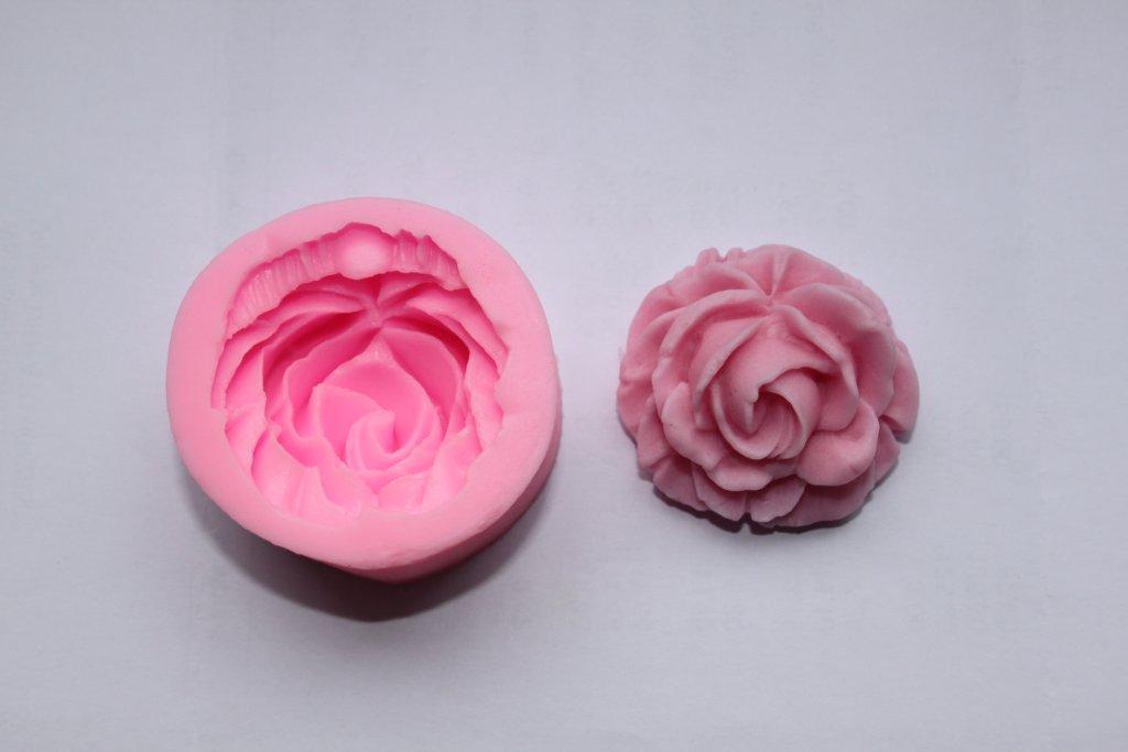 Silikonform Rose