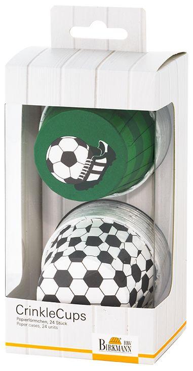 Muffinförmchen Cupcakeförmchen Fussball