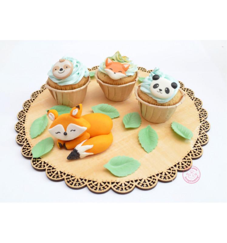Zuckerdekor Set Tiere | 6 Teile