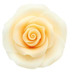 Rose pfirsich handgemacht - 50 mm