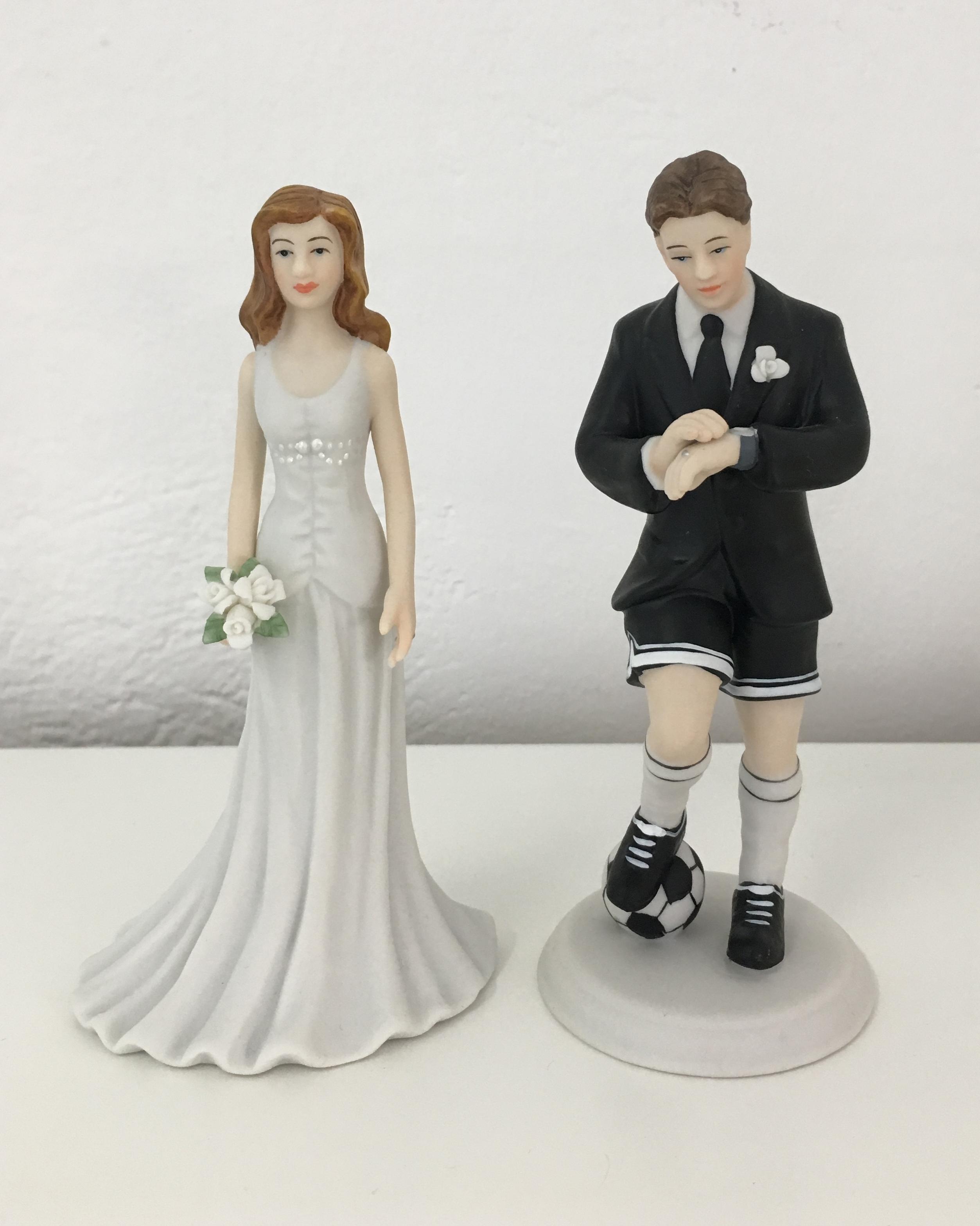 Brautpaar Fußball