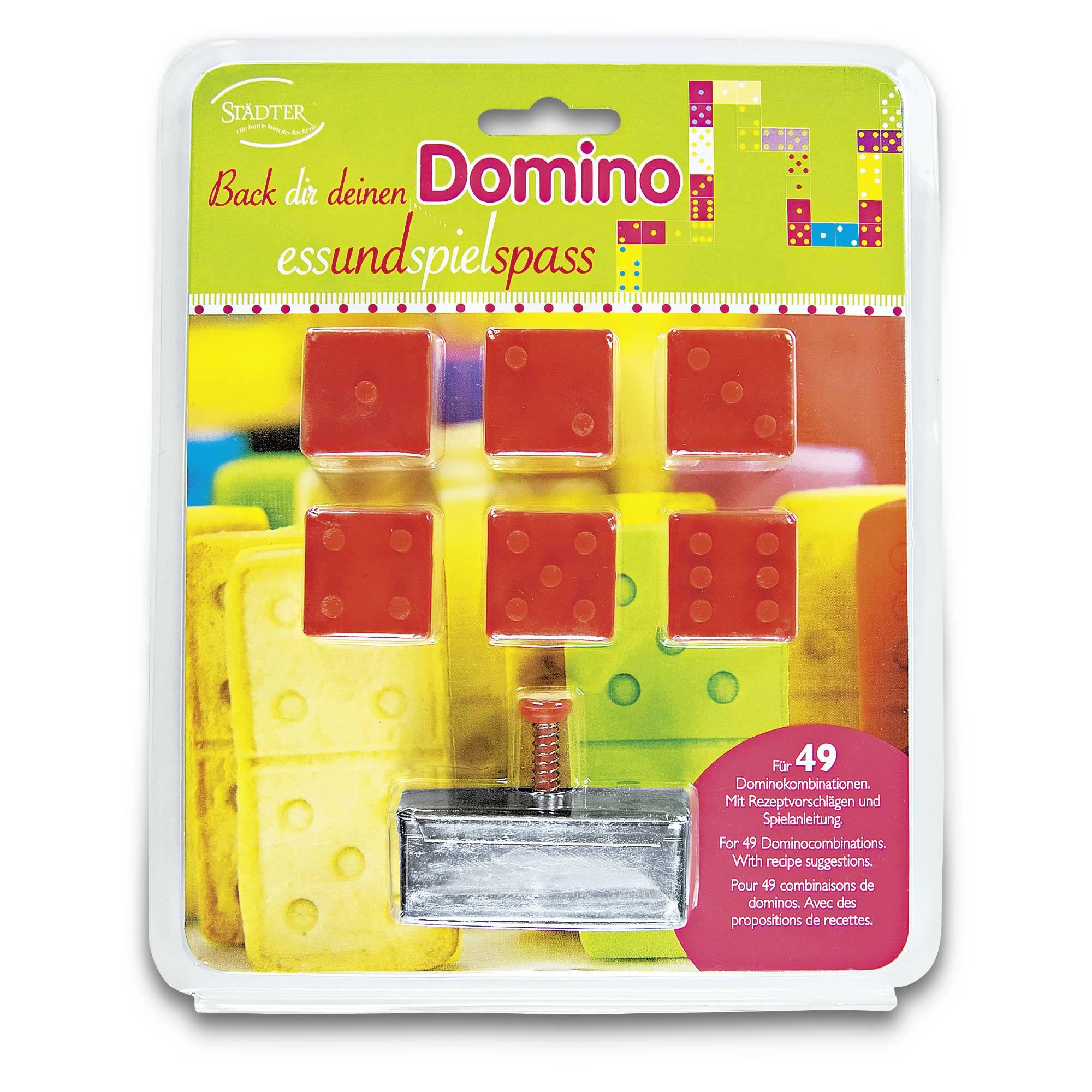 Ausstecher Set Domino 15 teilig