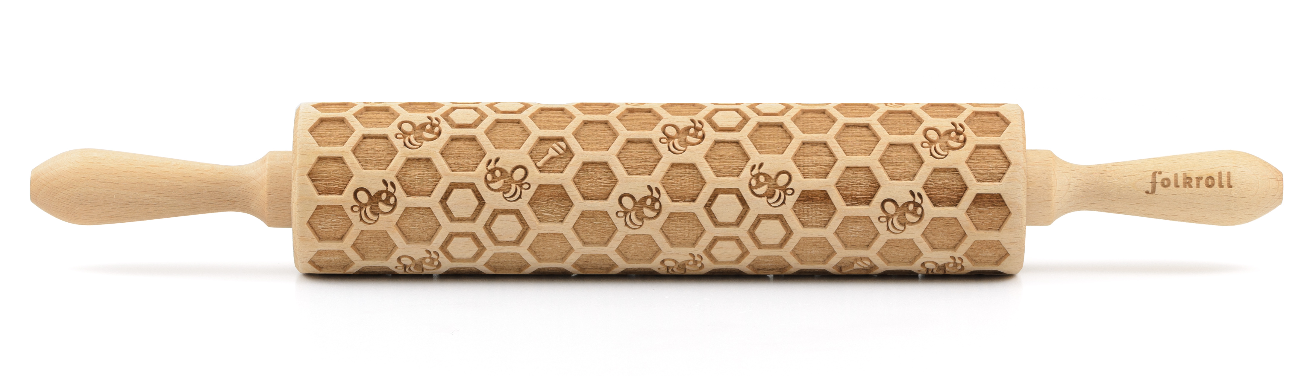 Teigrolle Bienenwaben, Motivroller groß