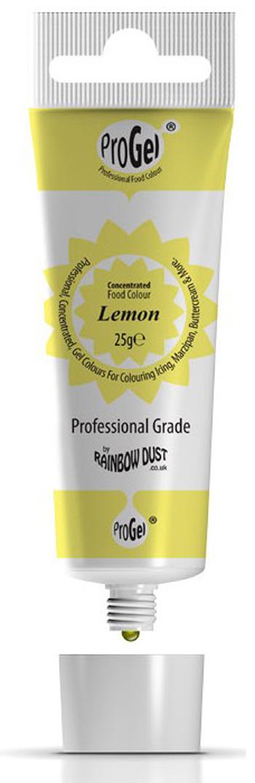 Gelfarbe Zitrone