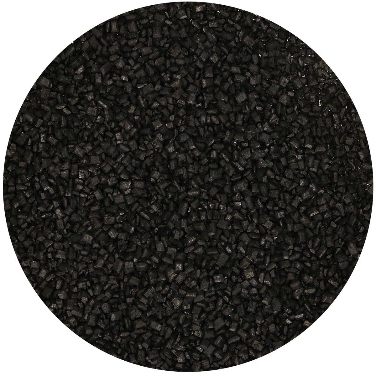 Kristallzucker schwarz