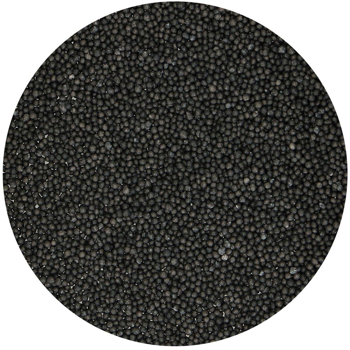 FunCakes Nonpareils Miniperlen schwarz 80g