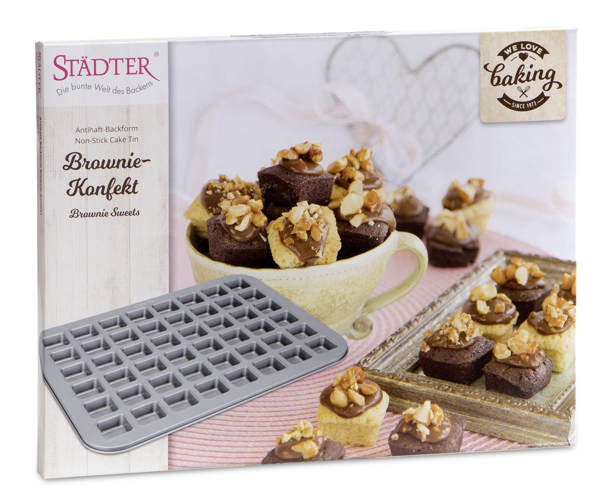 Backblech Brownie - Konfekt