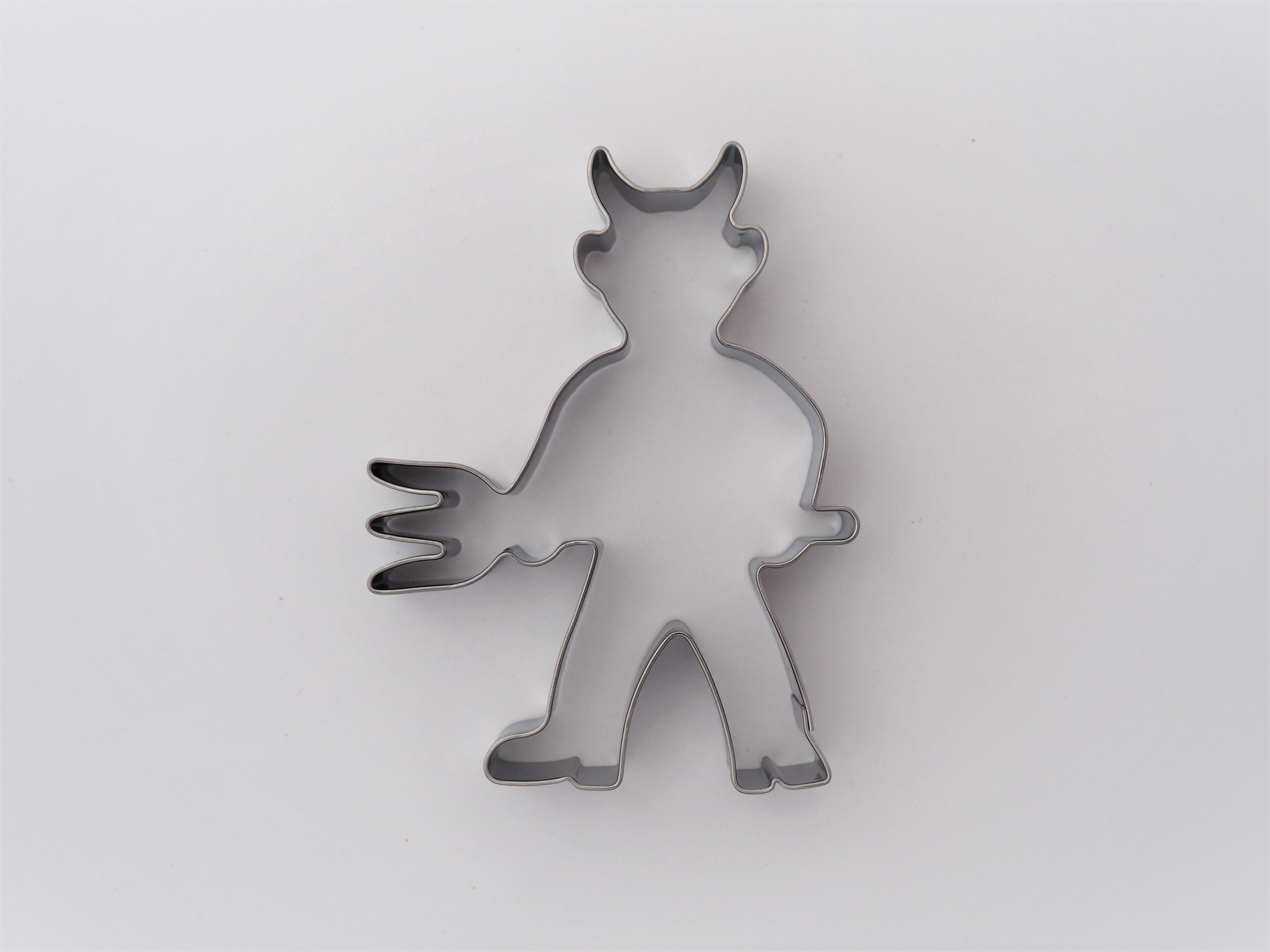 Ausstecher Krampus 9,5 cm