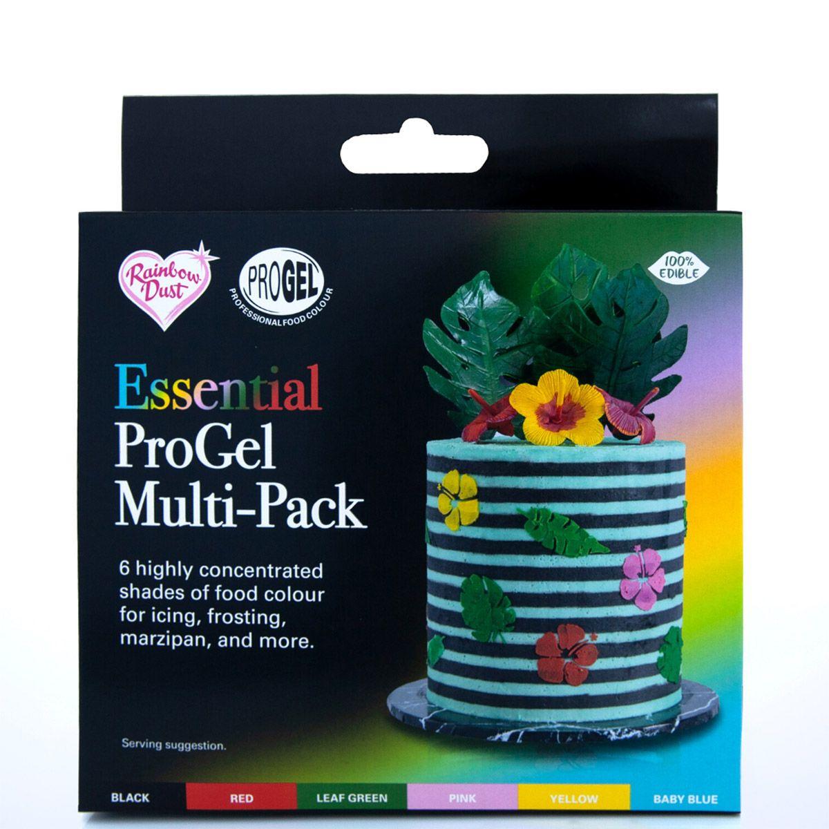 Gelfarben Multipack Essentials 6-teilig