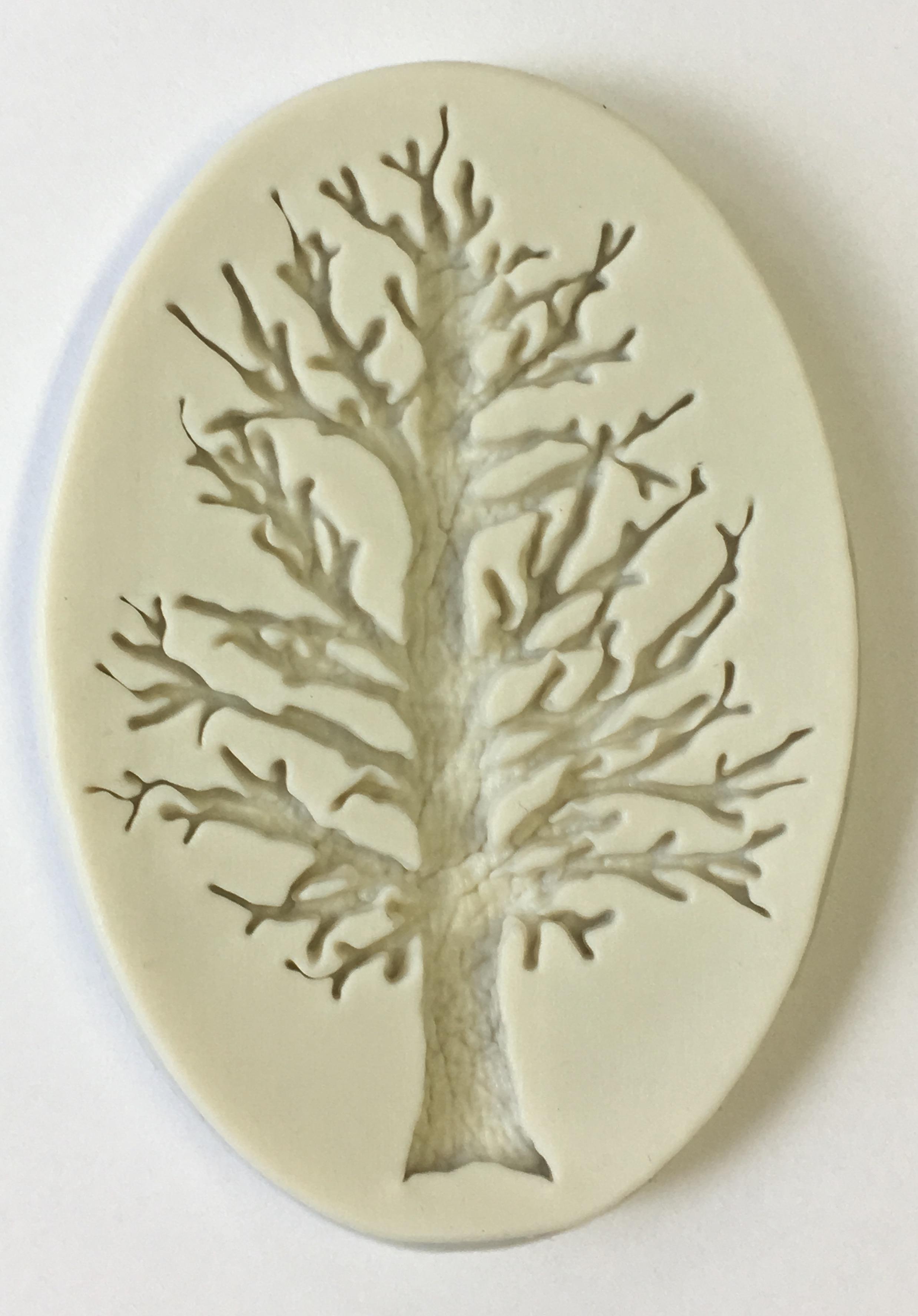 Silikonform Baum