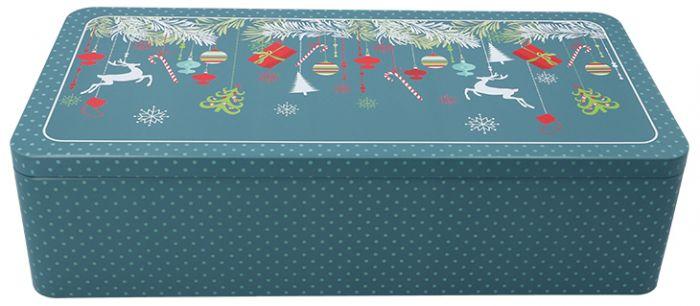 Gebäckdose XXL | Christmas Decorations mit Fächereinsatz