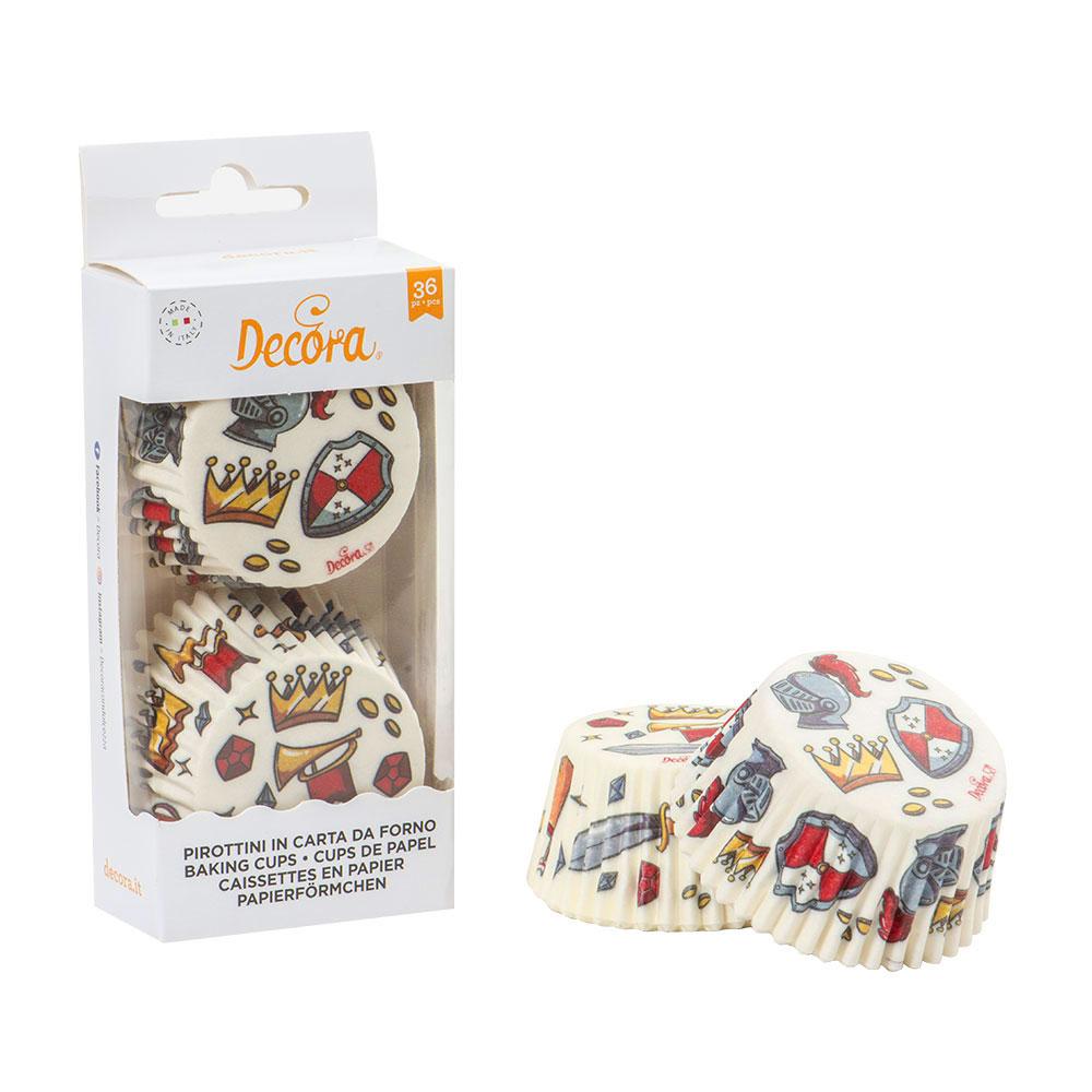 Muffinförmchen Cupcakeförmchen Ritter
