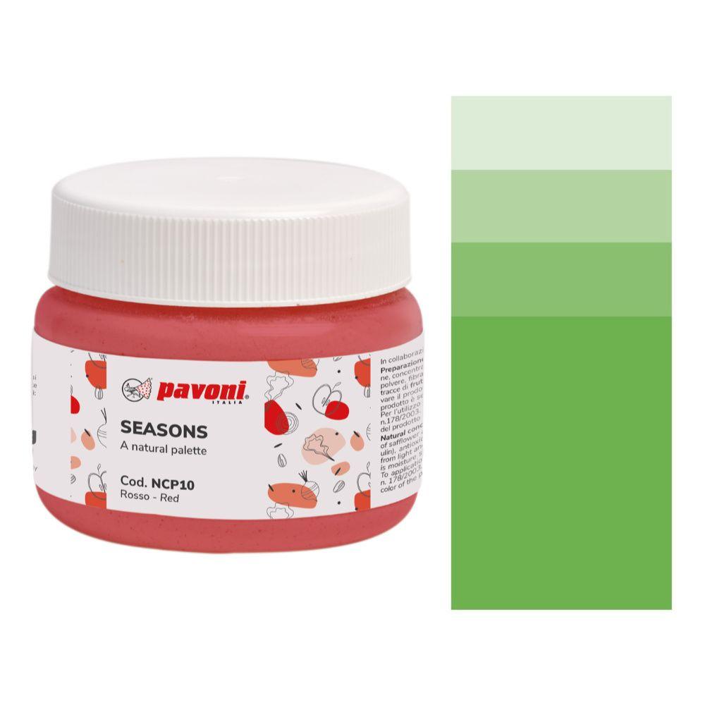 Natürliche Pulver Lebensmittelfarbe GRÜN NCP02 AZOfrei
