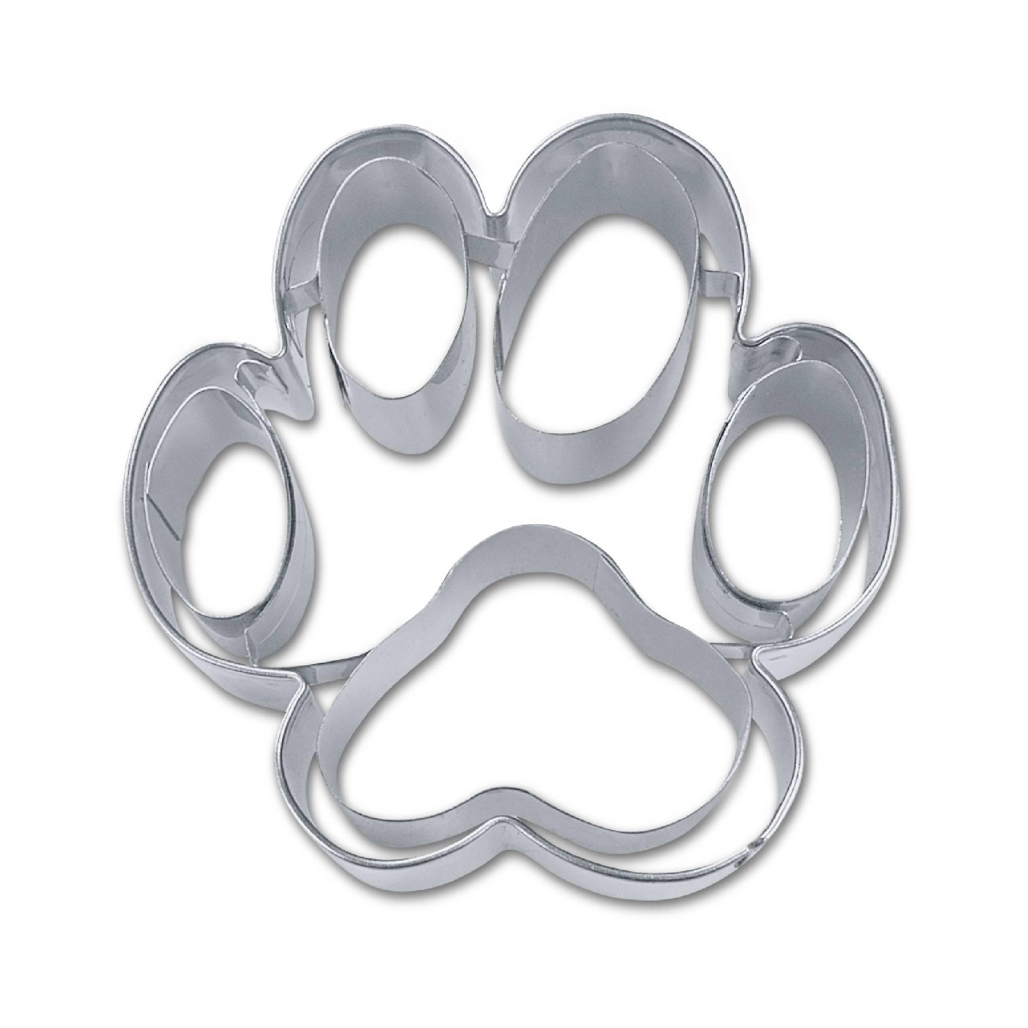 Ausstecher Hundepfote 7,5 cm