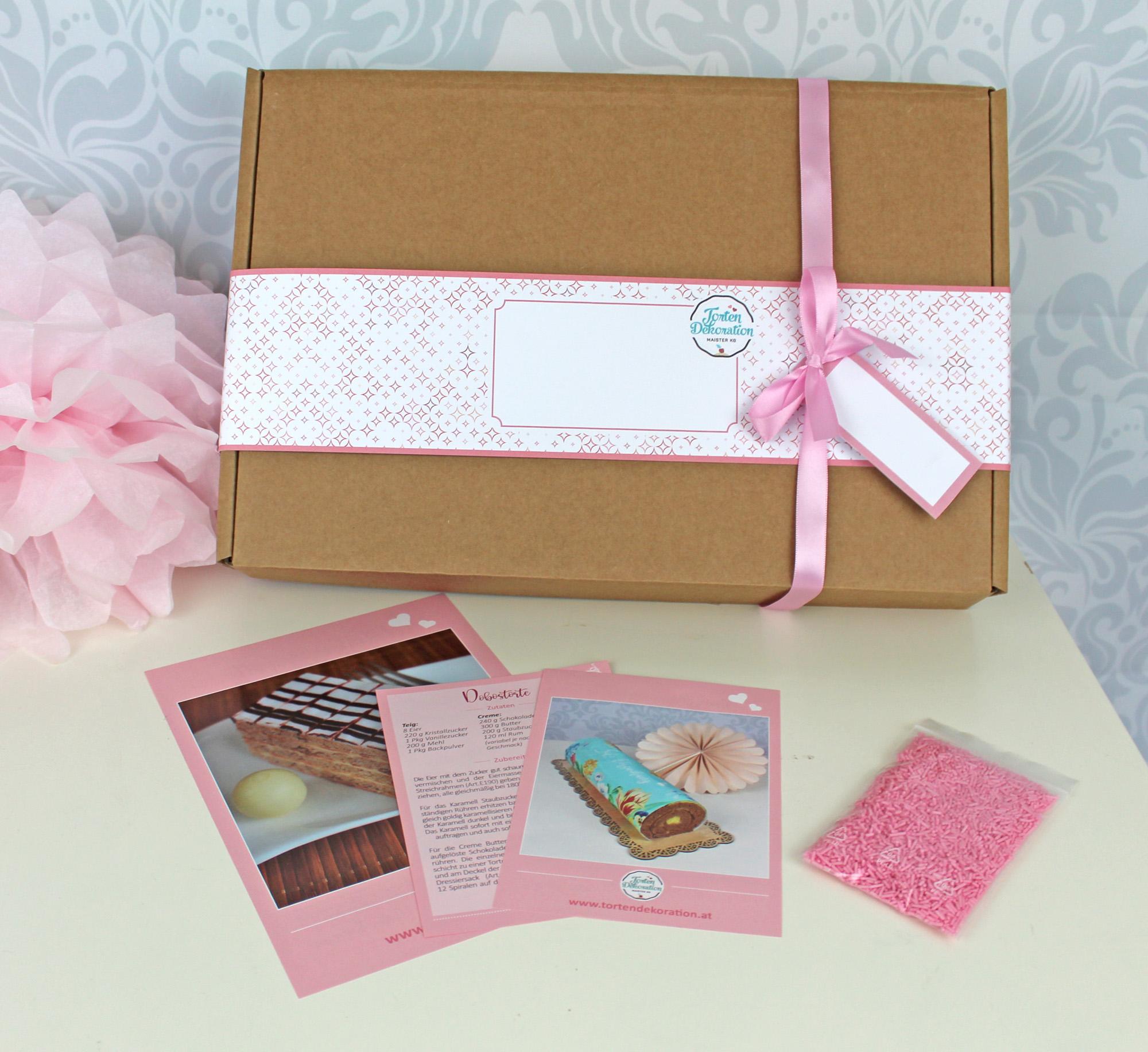Geschenkbox für Gutscheine