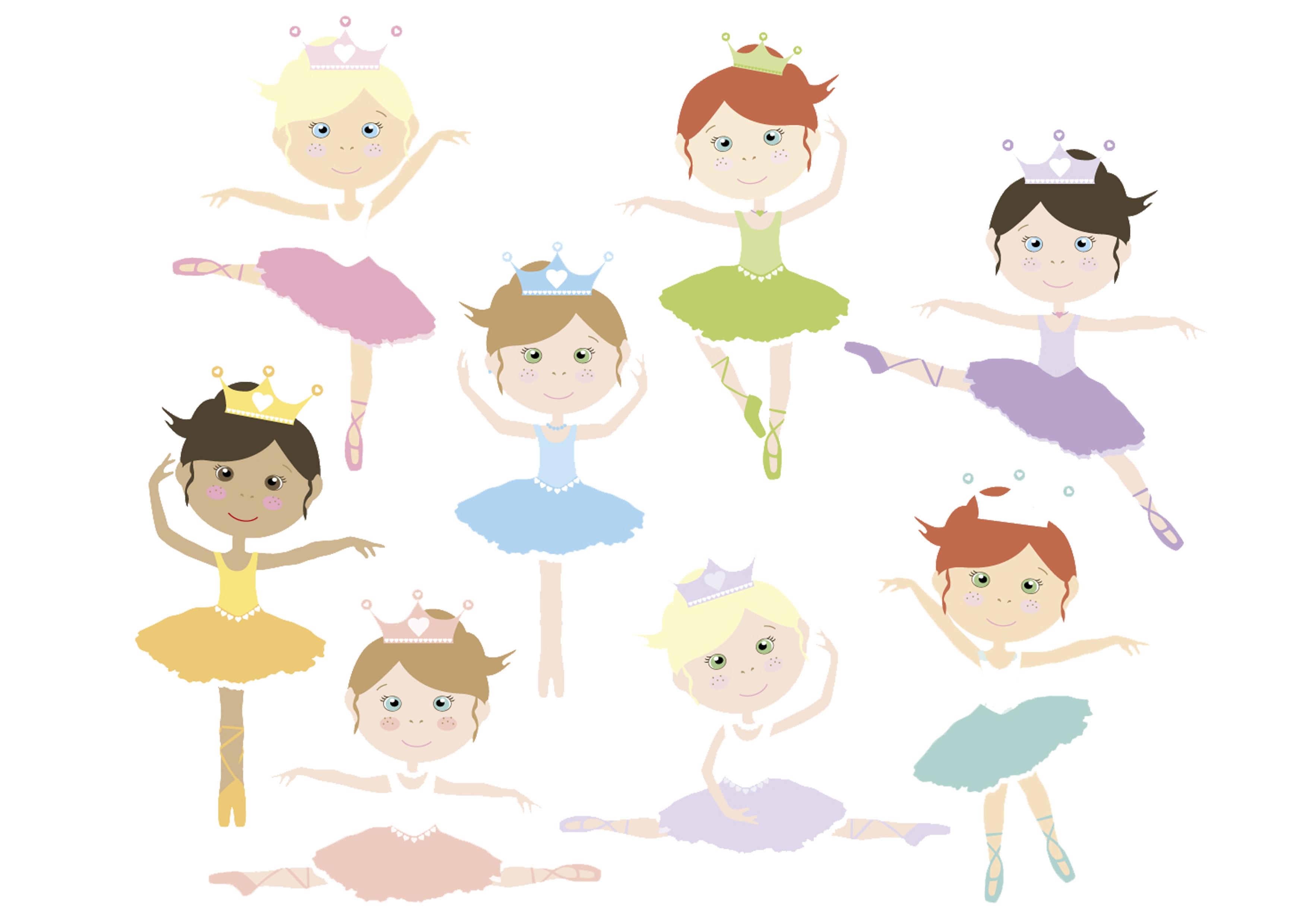 Wafer Paper bedruckt 2er Set - Ballerina