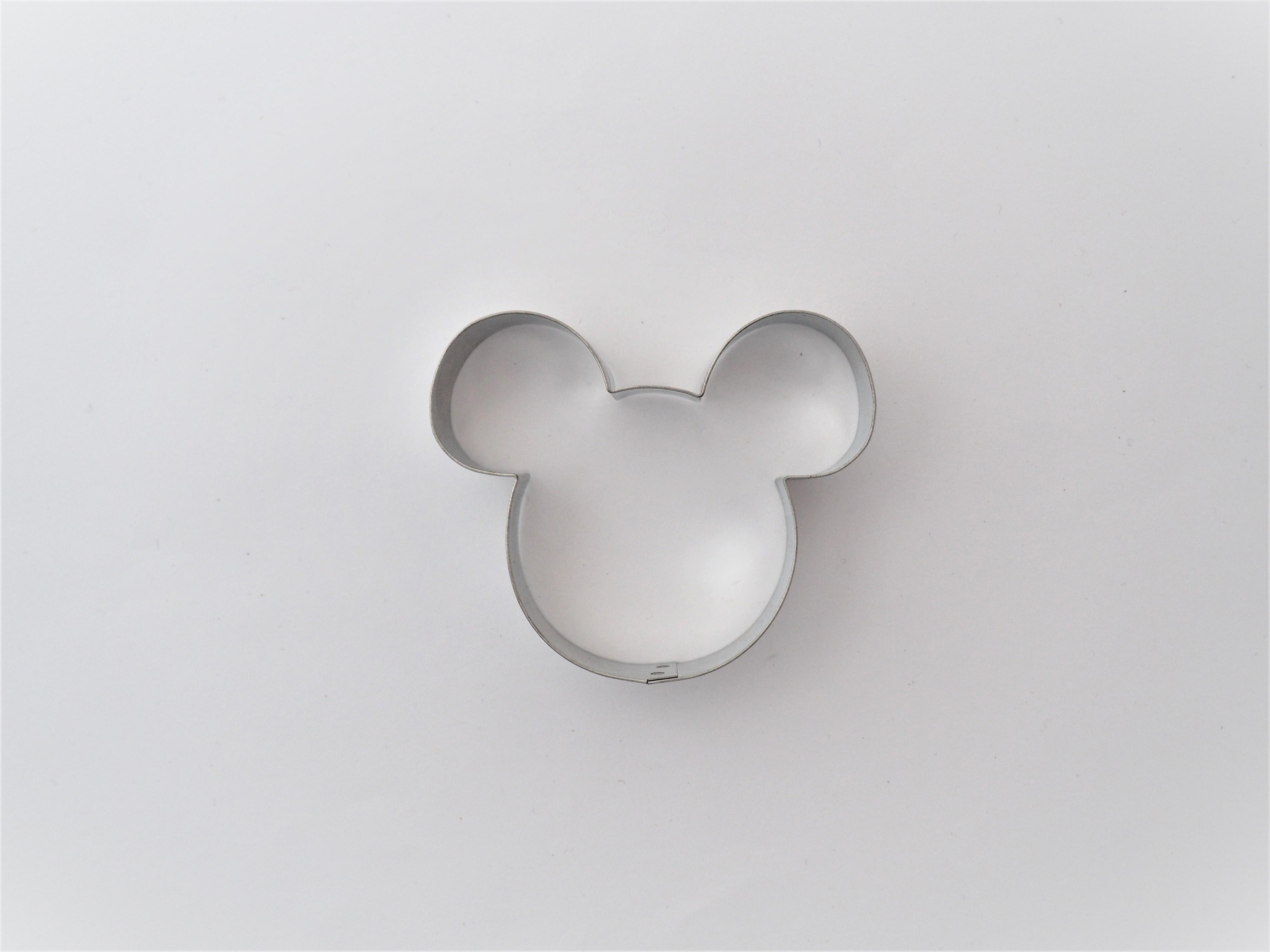 Ausstecher Mickey Maus Kopf 6 cm
