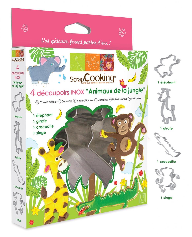 Ausstecher-Set Dschungel-Tiere