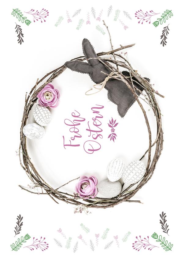 Rouladendekor Ostern