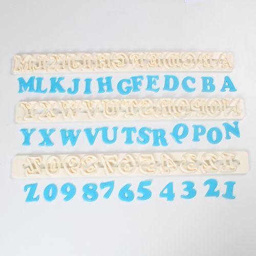 fmm Buchstaben und Zahlenausstecher Cutter