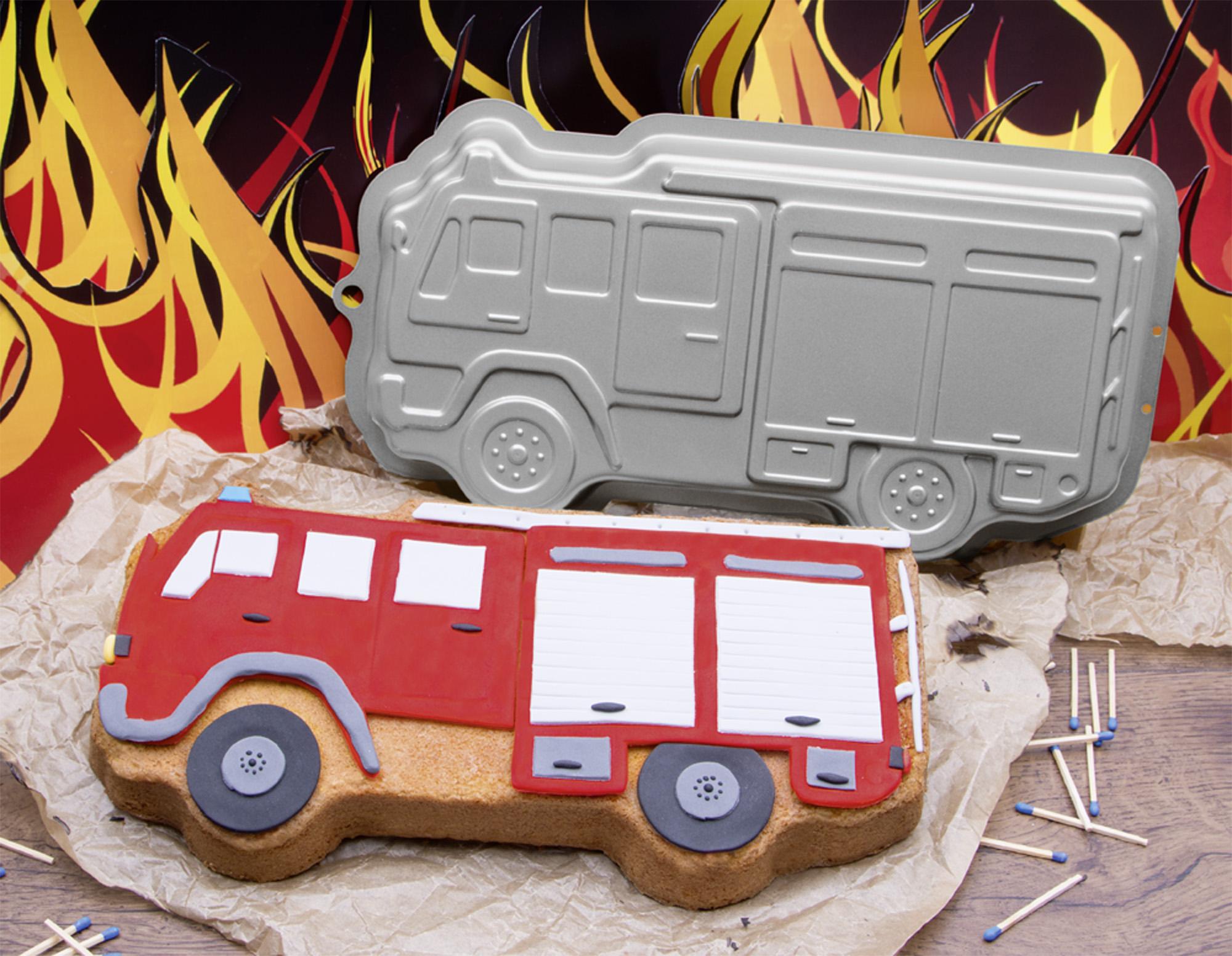 Backform Feuerwehrauto