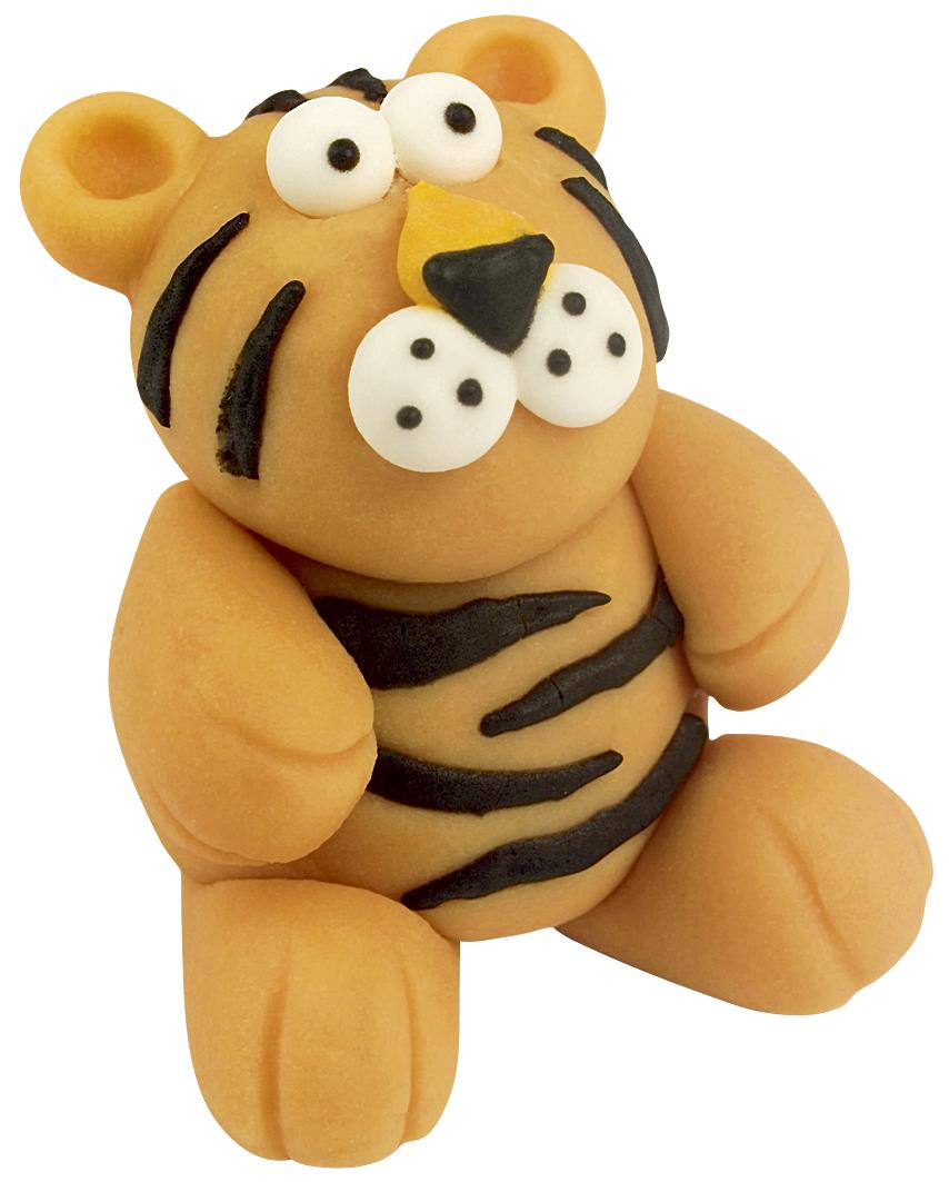 Marzipan Tiger handgemacht