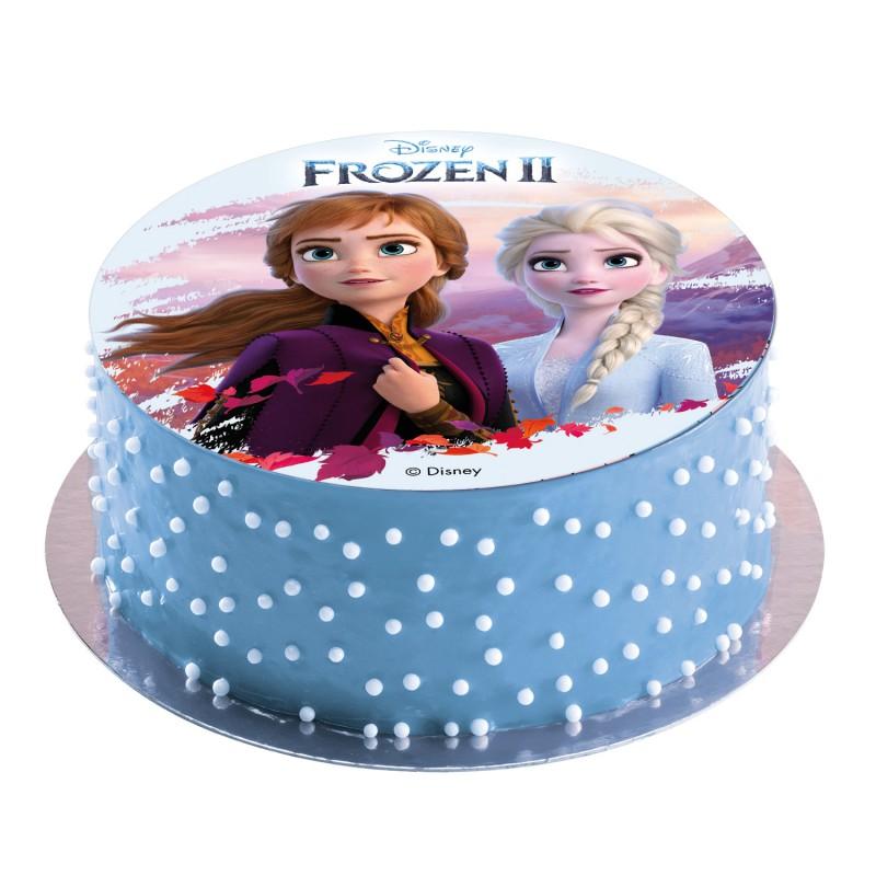 Tortenaufleger Elsa & Anna Frozen II Eiskönigin   20 cmTortenaufleger Elsa & Anna Frozen II Eiskönigin   20 cm