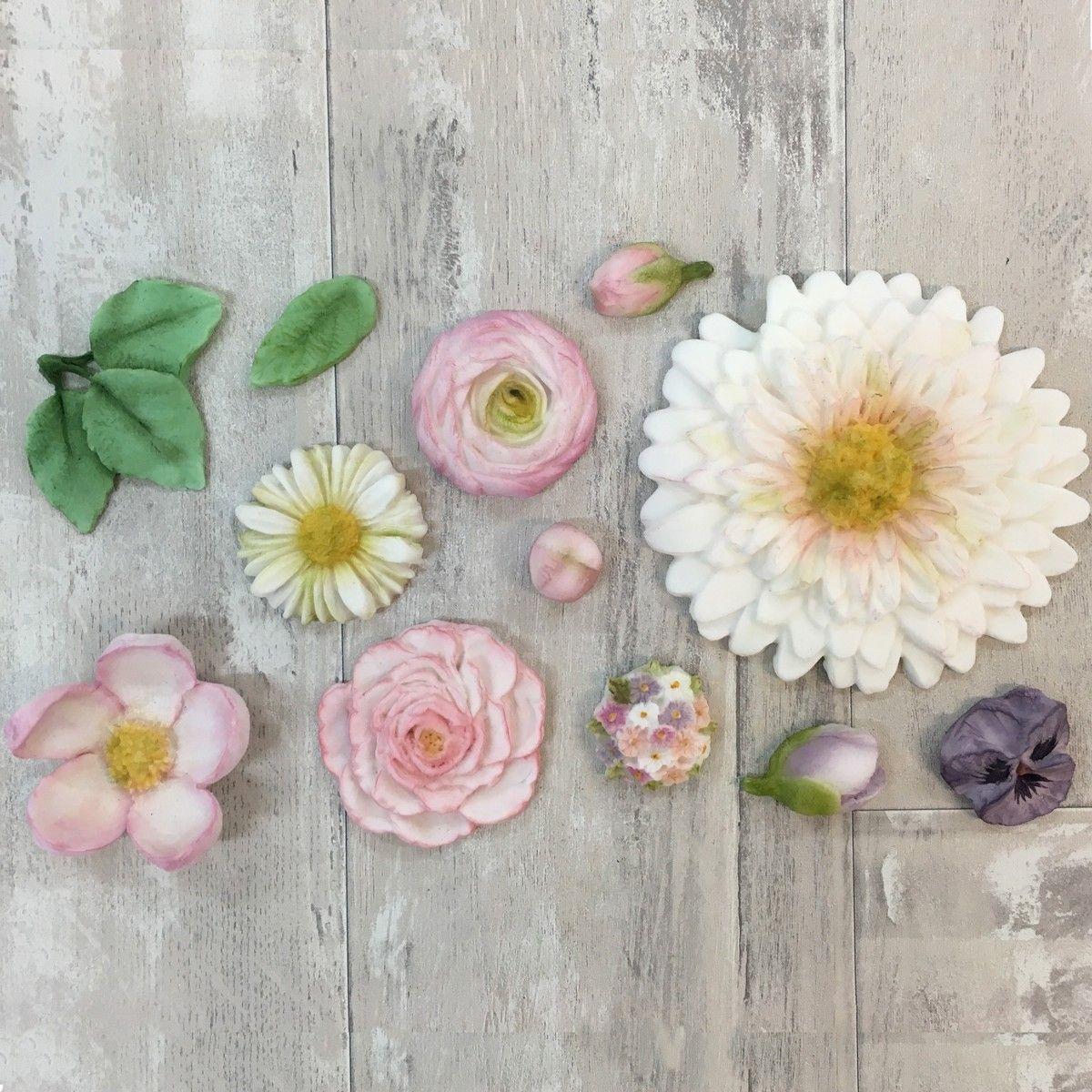 Silikonform Karen Davies Buttercreme Blumen