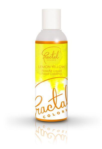 Fractal Airbrush Farbe Lemon Yellow gelb