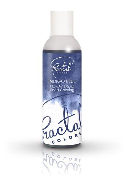 Fractal Airbrush Farbe Indigo Blue