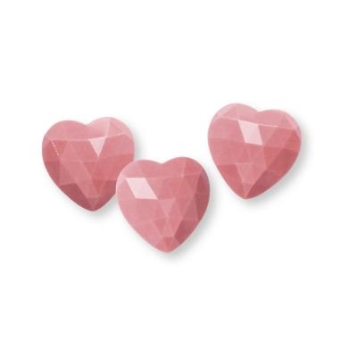 Diamant Herz 3D Ruby Schokolade 144 Stk.