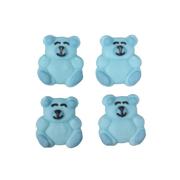 Zuckerdeko Bär blau